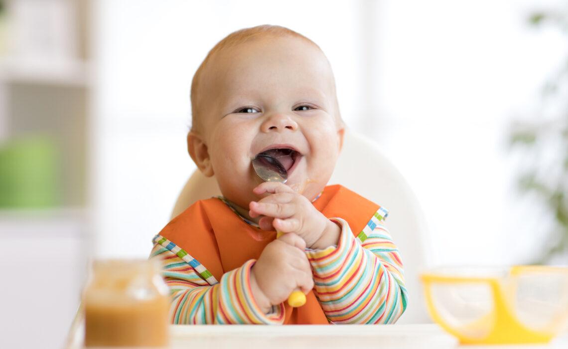 Introduction de l'alimentation chez bébé